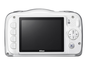 Nikon CoolPix S33 Manual - camera backside