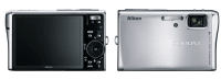 Nikon CoolPix S50 Manual - camera front and back side