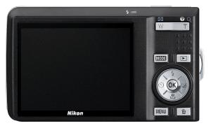 Nikon CoolPix S550 Manual - camera back side
