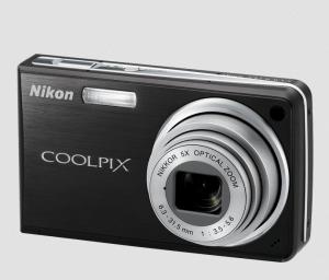 Nikon CoolPix S550 Manual - camera front side
