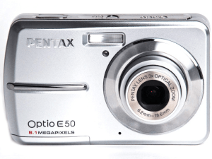 Pentax Optio E50 Manual for Pentax Affordable Compact