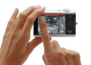 Pentax Optio T10 Manual - camera touch display