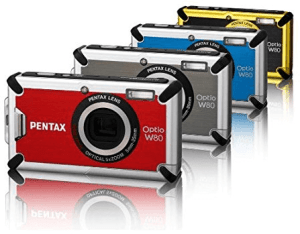 Pentax Optio W80 Manual User Guide and Product Specification