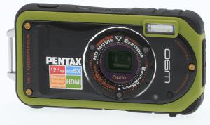 Pentax Optio W90 Manual - camera front face