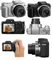 Sony Cyber-Shot DSC-H3 Manual - camera look