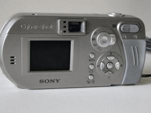 Sony Cyber-Shot DSC-P92 Manual - camera back