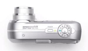 Sony Cyber-Shot DSC-P93 Manual - camera side