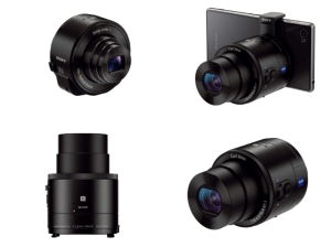 Sony Cyber-Shot DSC-QX100 Manual - attachable lens camera