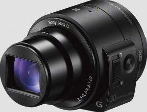 Sony Cyber-Shot DSC-QX30 Manual - attachable camera lens