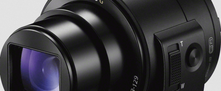 Sony Cyber-Shot DSC-QX30 Manual - attachable camera lens