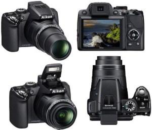 Nikon CoolPix P100 Manual- camera sides