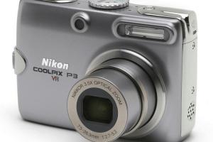 Nikon CoolPix P3-Nikon's Powerful Point and Shot Camera