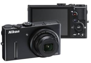 Nikon CoolPix P300 Manual camera front and back side