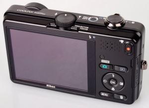 Nikon CoolPix S1200pj Manual - camera back side