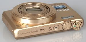 Nikon CoolPix S7000 Manual - camera side
