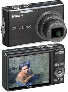 Nikon CoolPix S710 Manual-camera front and back side
