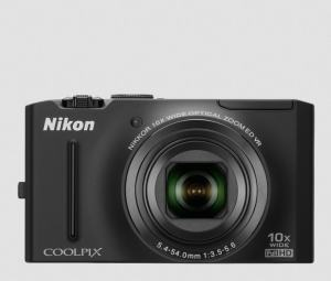 Nikon CoolPix S8100 Manual - camera front side