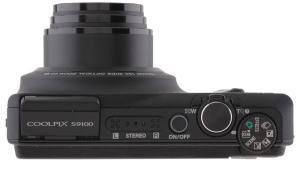 Nikon CoolPix S9100 Manual - camera side