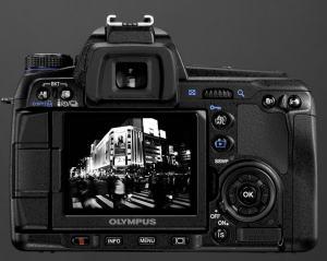 Olympus E-30 Manual-camera back side