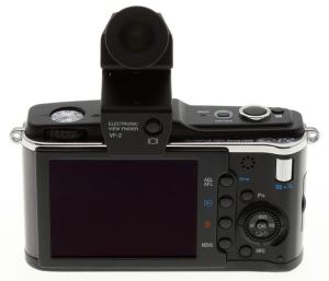 Olympus E-P2 Manual-camera back side