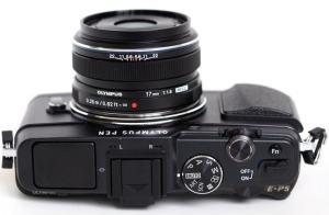 Olympus E-P5 Manual-camera side