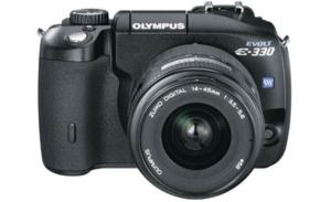 Olympus EVOLT E-330 Manual User Guide and Product Specification