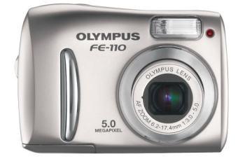 Olympus FE-110 Manual-camera front face