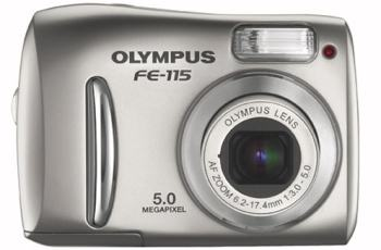 Olympus FE-115 Manual User Guide and Specification