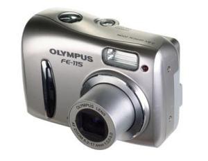Olympus FE-115 Manual - camera thickness