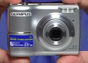 Olympus FE-170 Manual-Camera front face