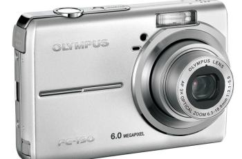 Olympus FE-190 Manual - camera front face