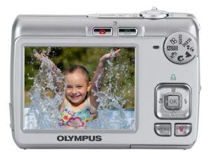 Olympus FE-210 Manual - camera back side