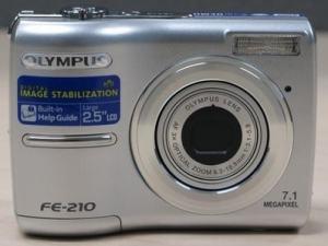 Olympus FE-210 Manual for Olympus Easy-Use Camera