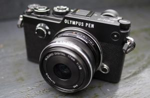 Olympus PEN-F Manual - camera front face