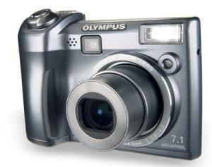Olympus SP-320 Manual - camera front face