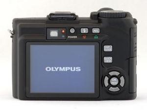 Olympus SP-350 Manual - camera back side