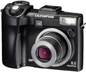 Olympus SP-350 Manual camera front face
