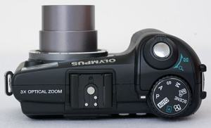 Olympus SP-350 Manual - camera side