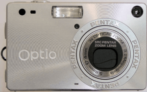 Pentax Optio S Manual for Pentax's Card-Size Compact Camera