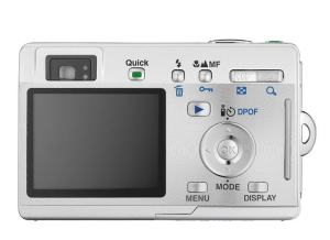 Pentax Optio S4 Manual-camera back side