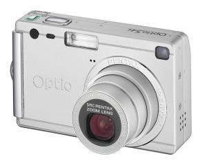 Pentax Optio S4 Manual for Pentax Super Compact Silvery Camera