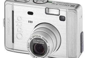 Pentax Optio S40 Manual User Guide and Detail Specification