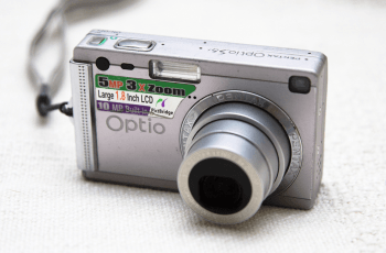 Pentax optio S5i Manual - camera front face