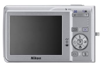 Nikon CoolPix S200 Manual - camera back side