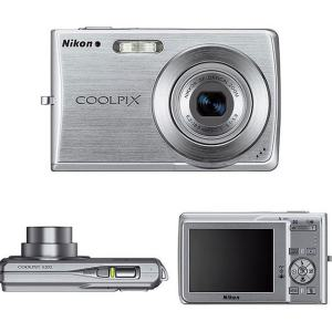 Nikon CoolPix S202 Manual-camera sides