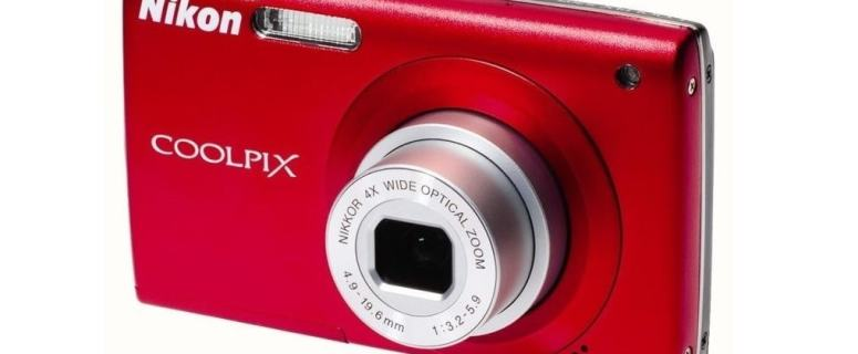 Nikon CoolPix S205 Manual User Guide and Product Specification