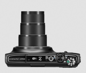 Nikon CoolPix S9500 Manual - camera side
