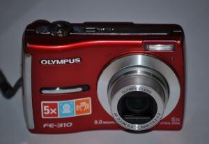 Olympus FE-310 Manual - camera front face