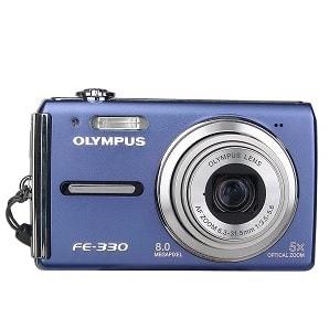 Olympus FE-330 Manual-camera front face