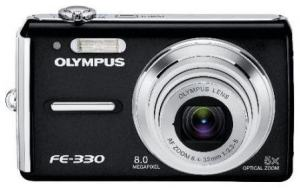 Olympus FE-330 Manual for Olympus Compact Camera with 8MP Resolution